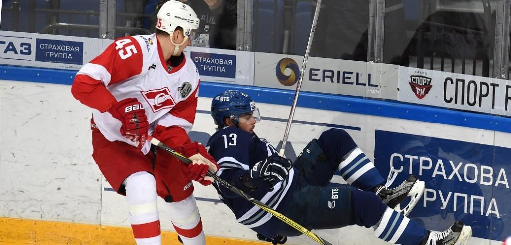 KHL: Spartak Claims Derby Victory, Magnitka Wins Under Interim Coach. November 4, 2017