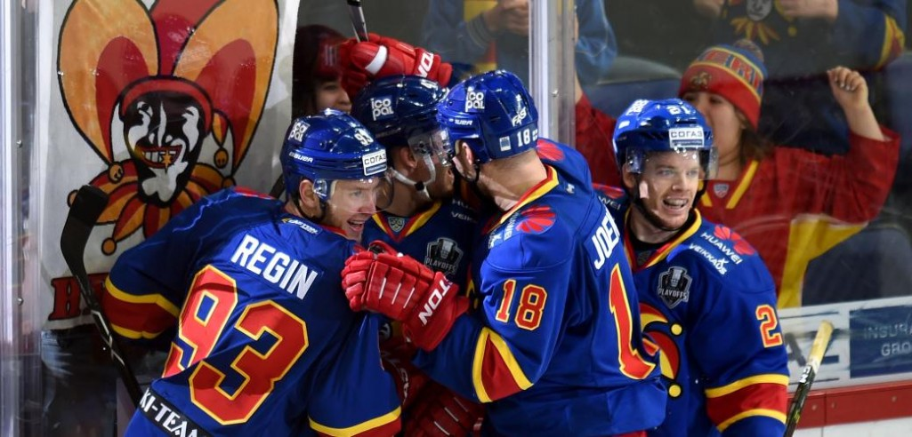 KHL: Jokerit Makes It 10 Wins In A Row. October 3, 2017 Round-up