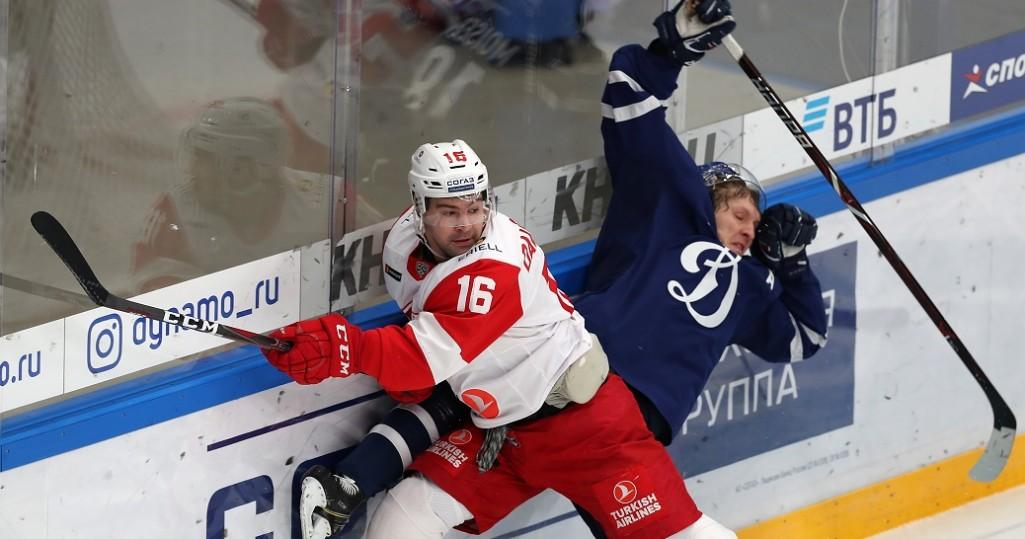 KHL: CSKA Wins The Army Derby, Spartak Beats Dynamo. November 5 Round-up