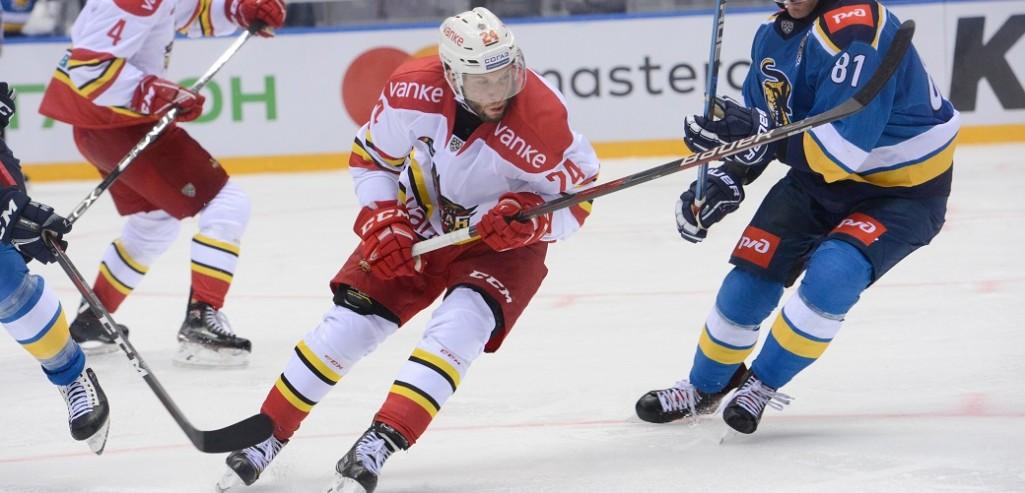 KHL: Kunlun Red Star Waives Rok Ticar
