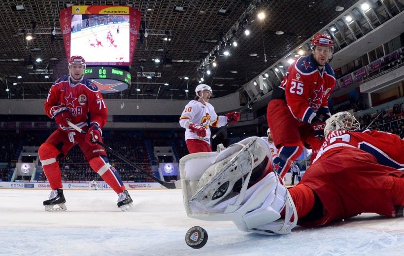 KHL: Perfect 10 For CSKA. January 29, 2016 Round-up
