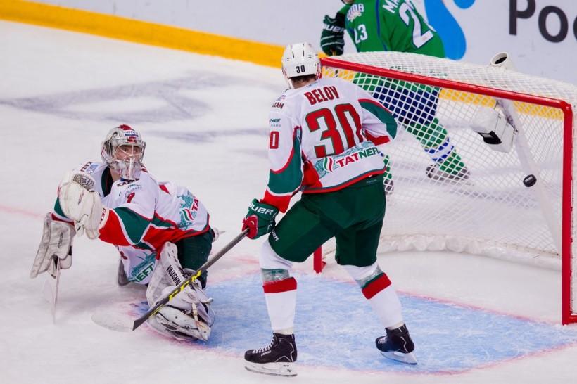 KHL: Second Big Win For Salavat Yulaev