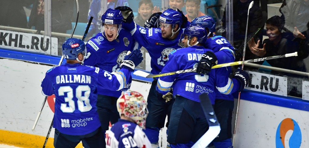 KHL: Vey Puts Barys On Top. November 5, 2017 Round-up