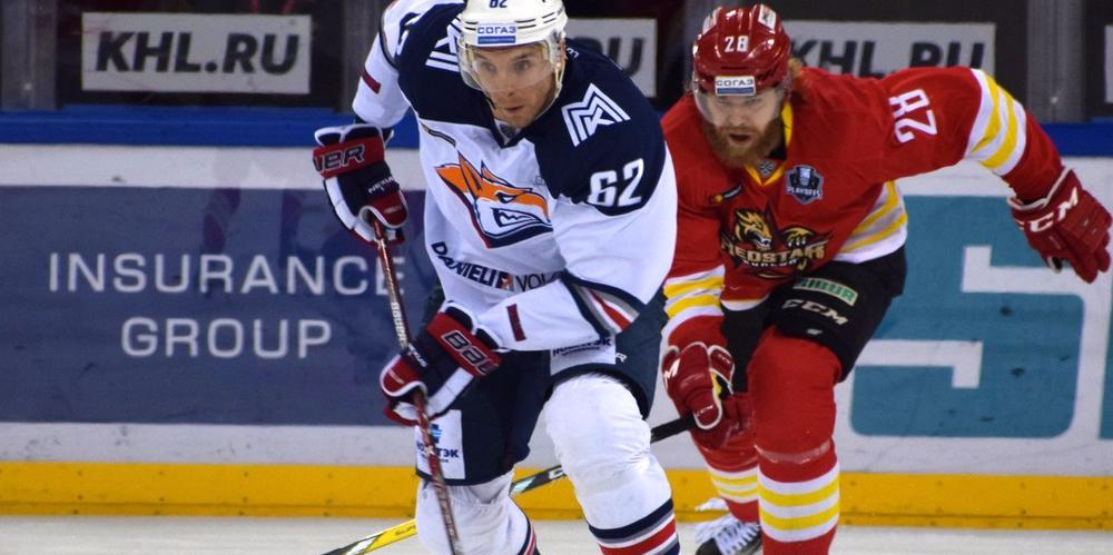 KHL: Mozyakin Scores His 1,000th Point. Playoffs Day 6