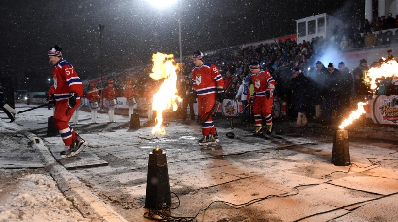KHL: Kovalchuk, Keenan, Radulov, Red Army And The Beavers. Russia's Winter Classic Commemorates Canadian Pioneers