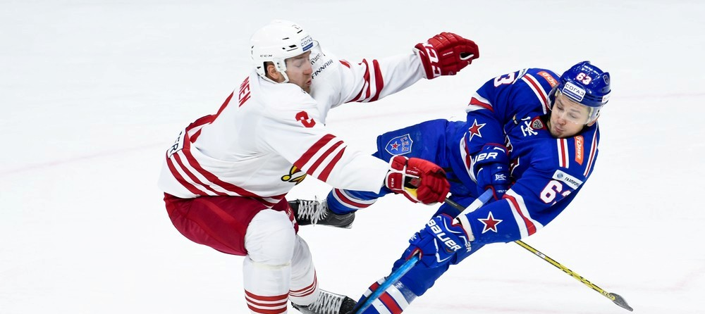 KHL: SKA Storms To Top Of Table. October 8, 2016 Round-up