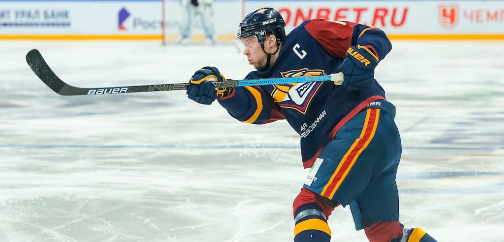 KHL: Five Points For Mozyakin, Three Goals For Ellison - 10 Goals In Magnitogorsk