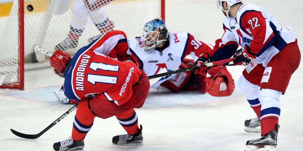 KHL: Karpov Treble Gives Dynamo The Edge, Svetlakov. Playoff, March 8, 2017