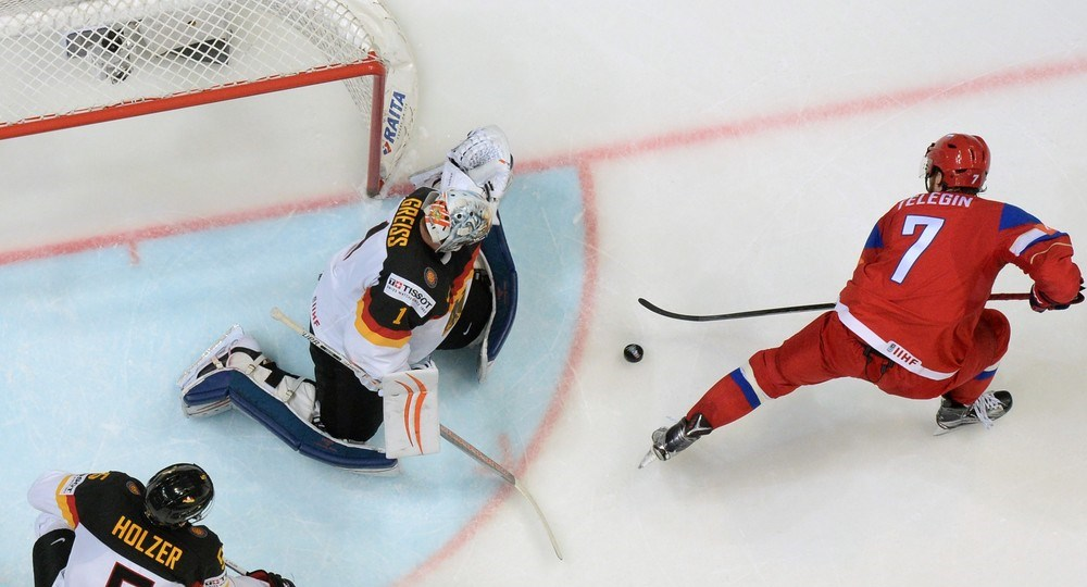 Worlds: Russia Digs Deep To Down Germany