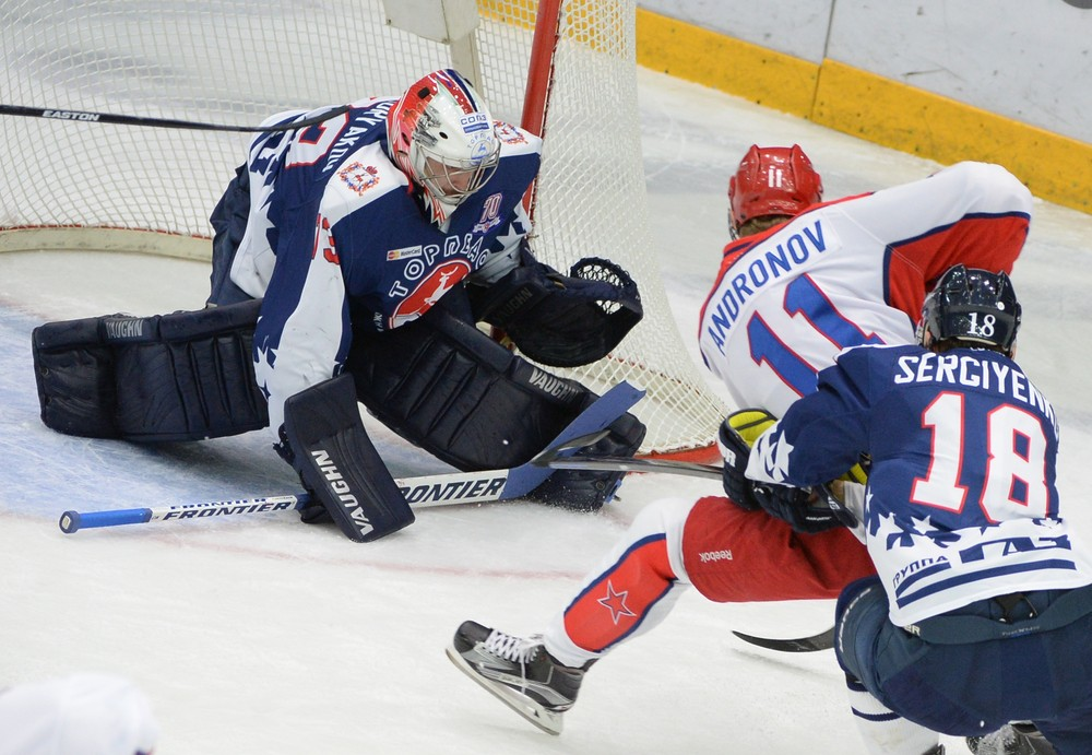 KHL: Andronov Banned For 1 Game