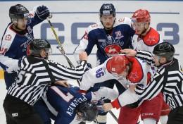 KHL: Makarov Banned For 1 Game