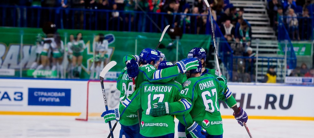 KHL: Crushing Win For Salavat Yulaev. October 30, 2016 Round-up