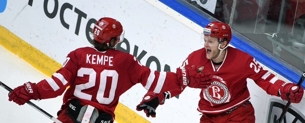 KHL: Vityaz Win Intensifies The Playoff Race. November 20, 2016 Round-up