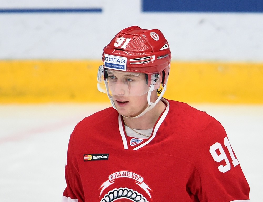 "KHL: Alexei Makeyev - ""I Partnered Afinogenov In Computer Games."""
