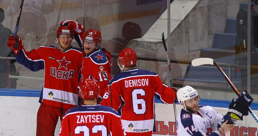 KHL: CSKA Marches Into Conference Final