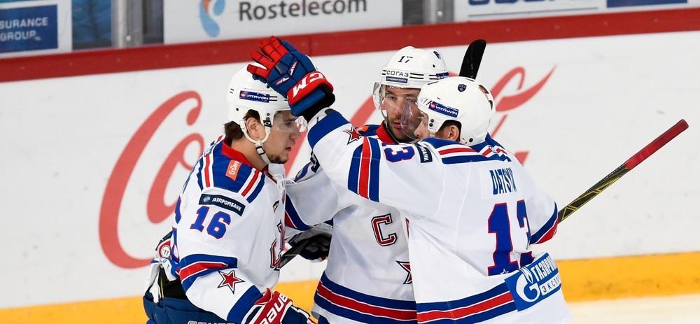 KHL: Datsyuk Penalty Gives SKA Victory. November 24, 2016 Round-up