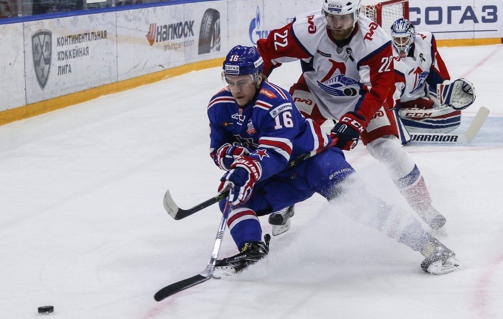 KHL: Plotnikov Masterclass Halts Lokomotiv. Playoff, March 25, 2017