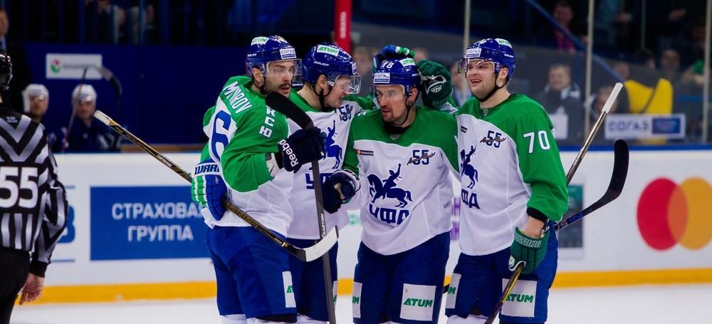 KHL: Salavat Wins To Celebrate Anniversary. November 25, 2016 Round-up