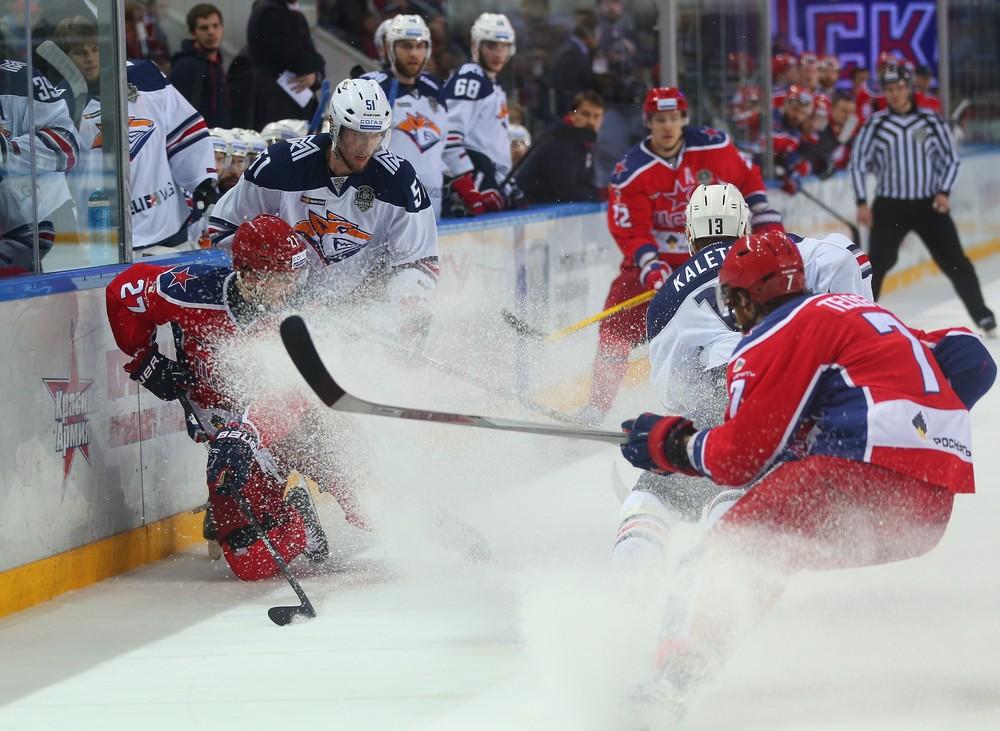 KHL: CSKA Starts With A Flourish
