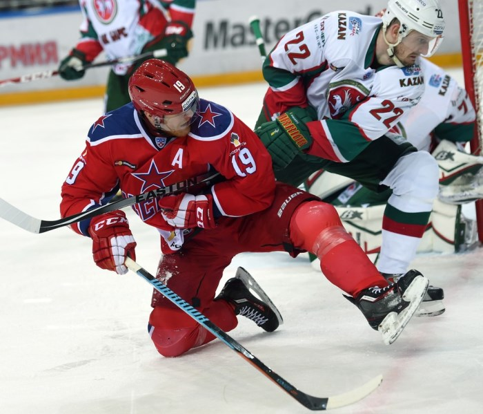 KHL: CSKA Extends Successful Streak. December 23 Round-up