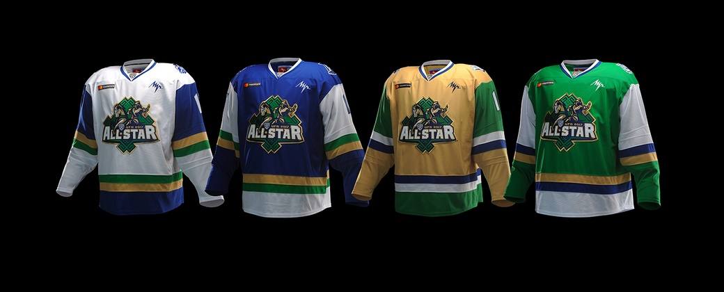 KHL: Four Divisions United By Style - 2017 All-Star Game Uniforms