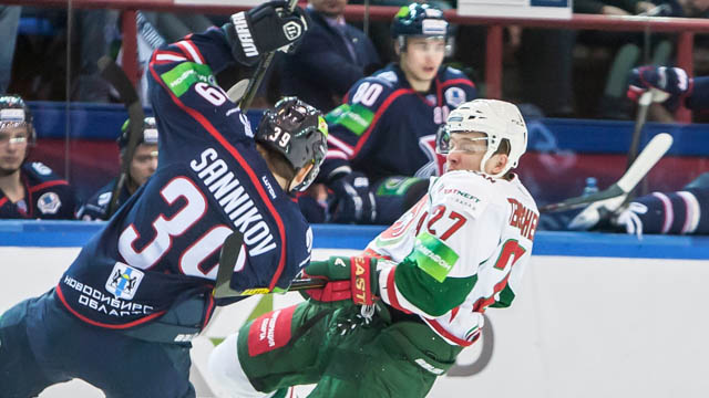 Last year Sibir knocked Ak Bars out of Gagarin Cup in the first round